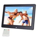 Seasiant India 10.1 inch HD Wide Screen Digital Photo Frame with Holder & Remote Control, Allwinner E200, Alarm Clock / MP3 / MP4 / Movie Player(Black)
