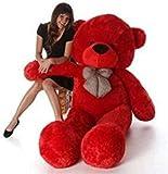 VEERA SOFT TOYS 2019 Teddy Bear Soft Toy (4 Feet, Red)