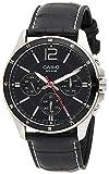 Casio Enticer Men Multi Dial Black Watch-MTP-1374L-1AVDF (A834)