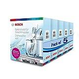 Bosch Salt for Dishwasher Powder - 5KG (Combo Pack of 5)