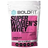 Boldfit Super Women's Whey Protein Powder For Women with Hair Skin and Nails support, No Added Sugar, Ideal for weight loss & slim body, Keto Friendly (Chocolate 500GM)