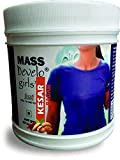 Develo Weight Mass Gainer Protein Shake Powder for Fast Gain in women girls, Nutrition Food Supplement, Health Drink with Natural Fat Energy I 27 Vitamins & Minerals I 600gm Kesar Badam Flavour
