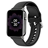 TAGG Verve Ultra Smartwatch with 1.69'' 3D Curved Display, Real SPO2, and Real-Time Heart Rate Tracking, 10 Days Battery Backup, IPX68 Waterproof (Black), Standard