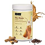 Kapiva Coffee Slim Shake -Meal Replacement Drink Powered With 6 Ayurvedic Herbs and 12 Superfoods - Helps in Weight Management - 500 Grams (20 Servings)