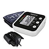 AGARO BP-501A Automatic Digital Blood Pressure Monitor with Dual User - 240 Readings Memory & Adapter included