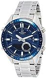 Casio Edifice Analog-Digital Blue Dial Men's Watch-EFV-C100D-2AVDF (EX440)