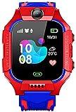 Kids smartwatch, 2G Kids Mobile Game Watch, Phone / GPS / SOS, Admission Birthday Graduation Celebration,Kids Cell Phone,Smart Watch,Track Phone. (Color: Red)