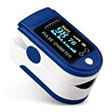 MACPLUS Pulse Oximeter Fingertip, Blood Oxygen Saturation Monitor Fingertip, Blood Oxygen Meter Finger Oximeter Finger with Pulse, O2 Monitor Finger for Oxygen…