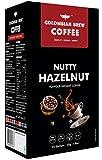 COLOMBIAN BREW COFFEE Hazelnut Instant Coffee Powder, No Sugar Vegan, 50gm