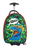 FunBlast Hard Canvas Luggage Trolley Bags for Kids-Cartoon Backpack for Kids, Cartoon Travel Bag Suitcase for Girls-Multicolor