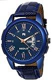 Redux RWS0216S Analogue Blue Linear Designer Dial Men's & Boy's Watch
