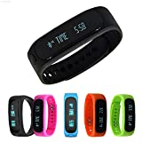 Generic EF69 Green Bluetooth Sync Bracelet Smart Watch Android Cell Phone E02