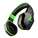boAt Rockerz 510 Over-Ear Headphones with 20 Hours Battery, 50mm Drivers, Easy Tap Controls, Powerful Bass(Viper Green)