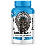 Canada Nutrition Bulk Gain Mass & Weight Gainer Capsule for Fast Weight & Muscle Gain, Daily Muscle Building Weight Lifters Supplement for Muscle Growth, Stamina & Strength, For Men & Women- 60 Cap.