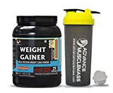 Strava AdvanceMuscleMass Weight Gainer with Enzyme Blend   5.1 G Protein   25.3 G Carbs   Lab tested   Made from Whey Protein only   Raw Whey from USA   With Shaker   Chocolate Flavour   1 Kg / 2.2 lb