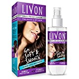 Livon Hair Serum for Women & Men for Dry and Rough Hair | 24-hour frizz-free Smoothness | with Moroccan Argan Oil & Vitamin E | 100 ml