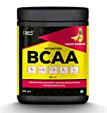 Healthvit Fitness BCAA 6000mg 2:1:1 with L-Glutamine & L-Citrulline Malate, 200g (10 Servings) Fruit Punch Flavor