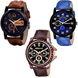 Embassy Analogue Black Dial Watch For Mens