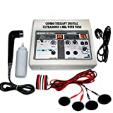 Physiotrex Physio Solutions Electrotherapy | Physiotherapy Machine | Combo Corded Electric Ultrasonic | Ultrasound With T.E.N.S. | With 1 Year Warranty