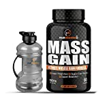 HulkNutrition Bulk Gain Mass & Weight Gainer Capsule for Fast Weight & Muscle Gain, Daily Muscle Building Weight Lifters Supplement