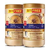 Saffola FITTIFY Gourmet Hi-Protein Slim Meal Replacement Shake, Coffee Caramel, Buy 1 Get 1, Each Pack 420 gm
