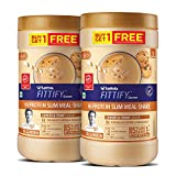 Saffola FITTIFY Hi-Protein Slim Meal Replacement Shake, Cookies & Cream, Buy 1 Get 1, Each Pack 420 gm