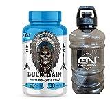 Canada Nutrition Bulk Gain Mass & Weight Gainer Capsule for Fast Weight & Muscle Gain, For Men & Women- 60 Cap. | Free Shaker