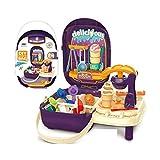 PLUSPOINT Ice Cream Maker Toy Colorful Ice Cream Machine with Suit Case Multicolor Toy for Unisex Children