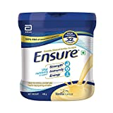 Ensure- Complete Nutrition for Adults with High Protein and 11 immunity nutrients- 400 gm Jar (Vanilla Flavour)