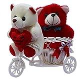 Anishop Teddy Teddy Bear (Standard, Red)