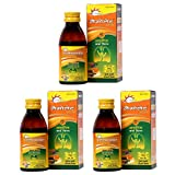 Dr. Morepen Lemolate Gold Ayurvedic Cough Syrup For Adults & Kids 100ml Pack of 3