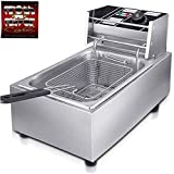FROTH & FLAVOR Deep Fryer 6 LTR with Copper Element 4 Year Warranty