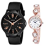 DREAM VILLA Analogue Multicolor Dial and Strap Men's and Women's Watch