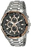 Casio Edifice Chronograph Multi-Color Dial Men's Watch-EF-539D-1A5VDF (ED368)