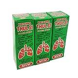 Krishna Thulasi Cough Syrup - Pack of 3-300ml - 100% Ayurvedic