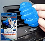 Multipurpose Aqua scented Magical Universal Dust Cleaning Slime Gel for Cleaning Keyboard Laptops Car Interior Accessories Cleaner (Pack of 1)