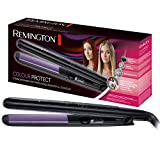RemingtonS6300Colour Protect Hair Straighteners with Colour Protect Ceramic Coating for Dyed and Treated Hair(Black)