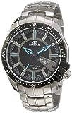 Casio Edifice Analog Black Dial Men's Watch-EF-130D-1A2VDF (ED417)