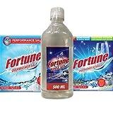 FORTUNE Dishwasher Starter Combo - Dishwasher Detergent 1kg (Pack of 1), Salt 1kg (Pack of 1) & Rinse Aid 500ml (Pack of 1)