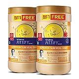 Saffola Fittify Gourmet Hi Protein Slim Meal-Shake Royal Kesar Pista 420gm, 12 Servings, Pack of 2
