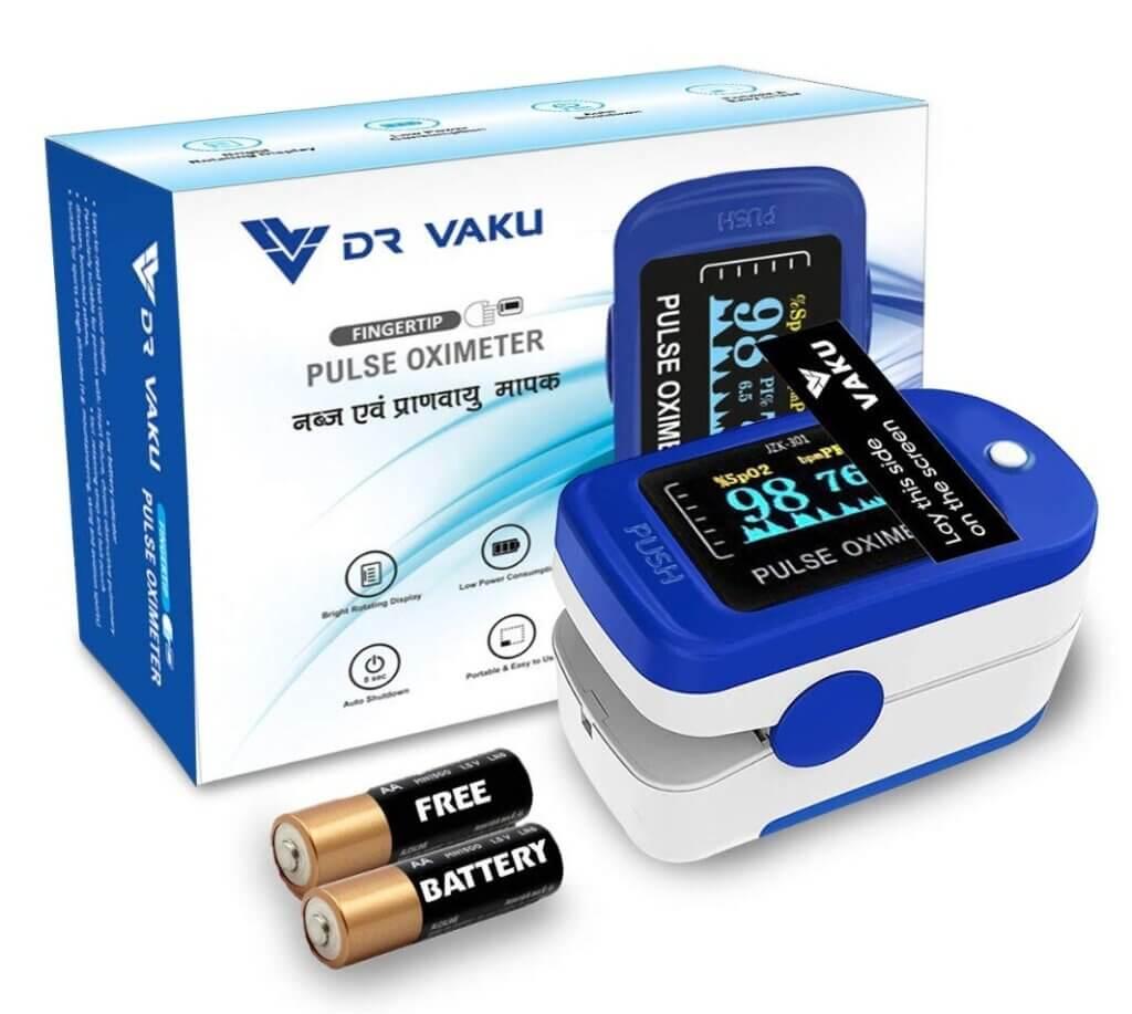 Best Pulse Oximeter - DR VAKU Swadesi Finger Tip Pulse Oximeter