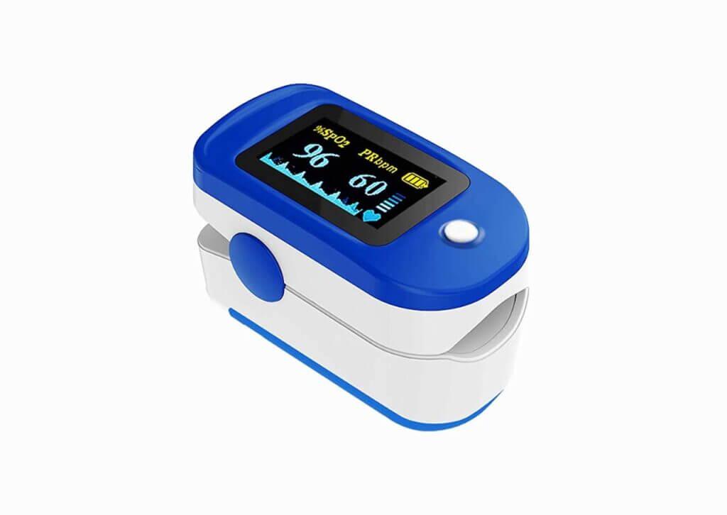 Best Pulse Oximeter - Dr. Vaku Pulse Oximeter Finger Pulse Blood Oxygen SpO2 Monitor