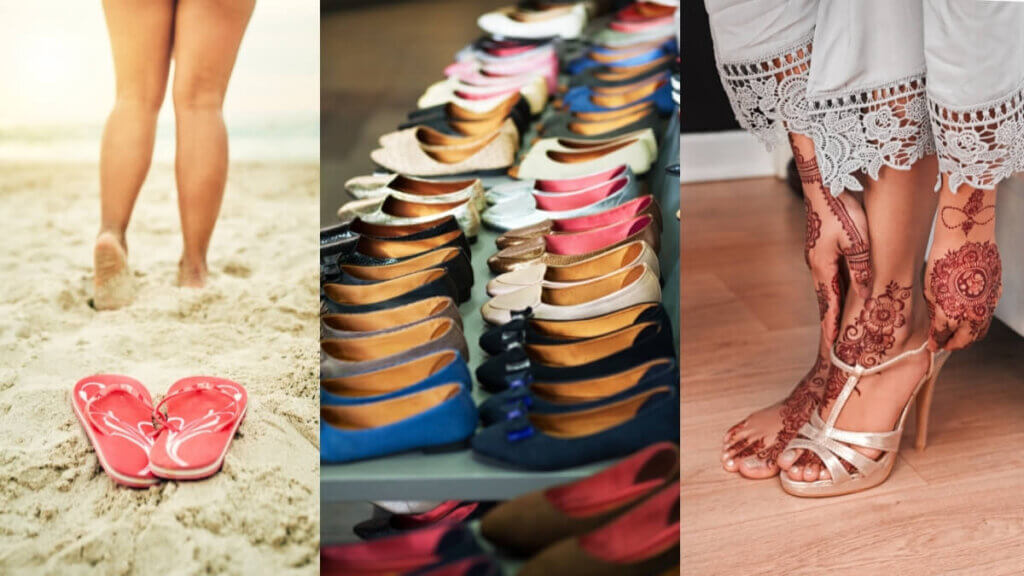 Gift Shoes, Sandals, Ethnic Footwear to your Sister